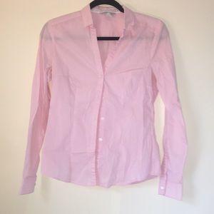 Pink Button Down H&M